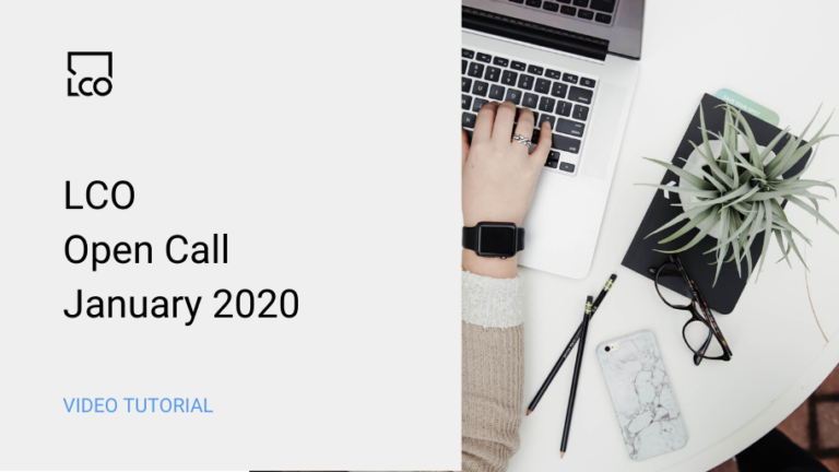 LCOopencall2020jan